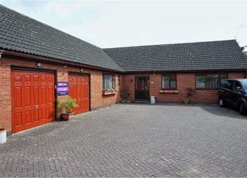 Thumbnail 4 bed detached bungalow for sale in St. Johns, Leicester