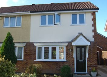 Thumbnail 3 bed semi-detached house to rent in Tan Howse Close, Bournemouth