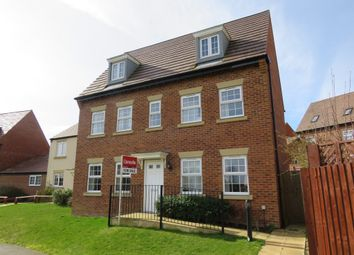 Thumbnail 5 bedroom detached house for sale in King Johns Walk, Rothwell, Kettering