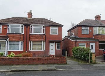 Thumbnail 3 bedroom semi-detached house for sale in Beech Avenue, Whitefield, Whitefield Manchester