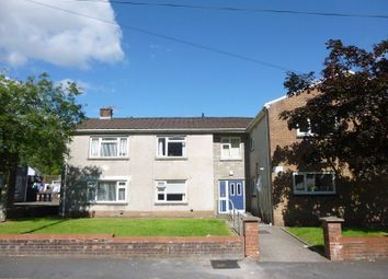 Thumbnail 2 bed flat for sale in Oakwood Avenue, Pontrhydyfen, Port Talbot, Neath Port Talbot.