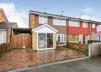 Thumbnail 3 bed end terrace house for sale in Russell Road, Tilbury