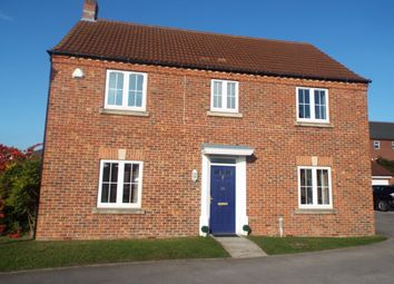 Thumbnail 4 bed detached house for sale in Leicester Crescent, Worksop