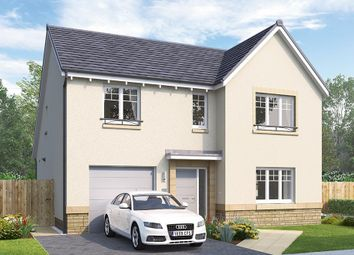 "Thumbnail 4 bed detached house for sale in ""The Overbury"" at Mauricewood Road, Penicuik"
