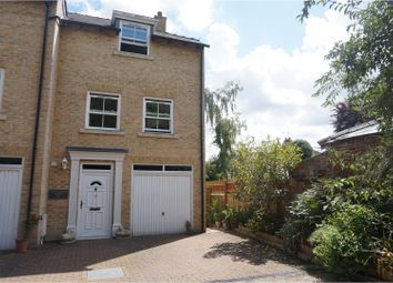 Thumbnail 4 bed town house for sale in Ipswich Road, Stowmarket
