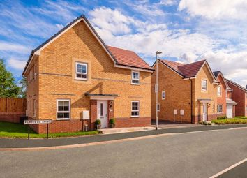"Thumbnail 4 bed detached house for sale in ""Alderney"" at Weston Hall Road, Stoke Prior, Bromsgrove"