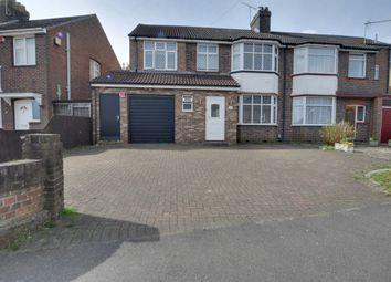 Thumbnail 4 bed semi-detached house for sale in Ashcroft Road, Luton, Bedfordshire