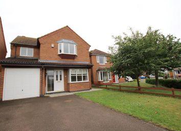 Thumbnail 4 bed detached house to rent in Plough Lane, Newborough, Peterborough
