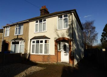Thumbnail 3 bed semi-detached house for sale in Lyndhurst Avenue, Ipswich, Suffolk