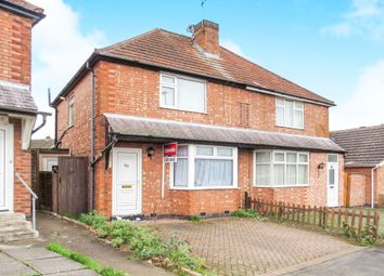 Thumbnail 3 bed semi-detached house for sale in Fairfield Road, Oadby, Leicester
