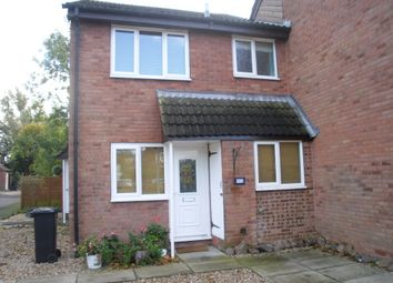 Thumbnail 1 bed terraced house to rent in Warren Drive, Leicester