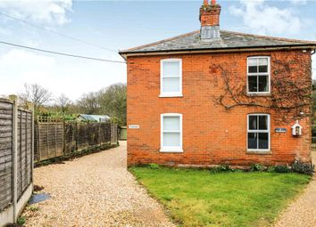 Thumbnail 3 bed semi-detached house for sale in Newtown Road, Awbridge, Romsey, Hampshire