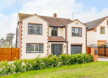 Thumbnail 4 bed detached house for sale in Crick Road, Hillmorton, Rugby, Warwickshire