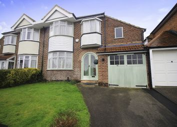 Thumbnail 3 bed semi-detached house for sale in Meadow Grove, Solihull