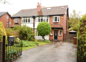 Thumbnail 5 bed semi-detached house for sale in Davies Avenue, Roundhay, Leeds