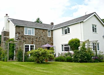 Thumbnail 4 bed detached house for sale in Hyssington, Montgomery