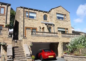 Thumbnail 4 bed detached house for sale in Brow Lane, Shelf, Halifax