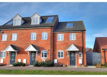 Thumbnail 2 bed end terrace house for sale in Albini Way, Wymondham