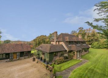 Thumbnail 5 bed equestrian property for sale in Cowbeech Hill, Cowbeech, Hailsham, East Sussex