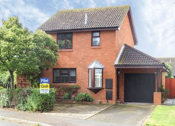 Thumbnail 3 bed detached house for sale in Huntsmans Drive, Hereford