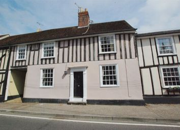 Thumbnail 3 bed terraced house for sale in West Street, Coggeshall, Essex