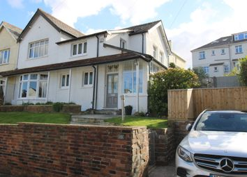 Thumbnail 4 bed semi-detached house for sale in Compton Park Road, Mannamead, Plymouth