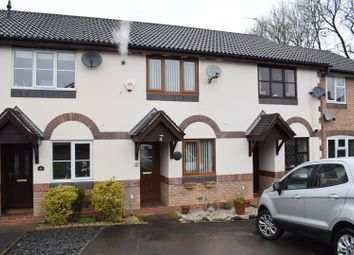 Thumbnail 2 bed town house for sale in Wye Dale, Church Gresley, Swadlincote