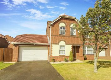 Thumbnail 4 bed detached house for sale in Abbots Way, North Shields, Tyne And Wear