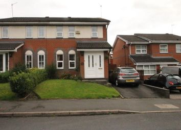 Thumbnail 3 bed semi-detached house to rent in Foxhollies Drive, Halesowen, West Midlands