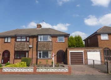 Thumbnail 3 bed semi-detached house for sale in Himley Avenue, Dudley