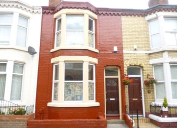 Thumbnail 3 bed terraced house to rent in Esmond Street, Liverpool