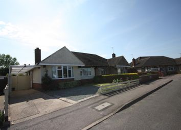 Thumbnail 2 bed semi-detached bungalow for sale in Coplow Crescent, Syston, Leicester