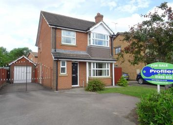Thumbnail 3 bed detached house for sale in Roston Drive, Hinckley