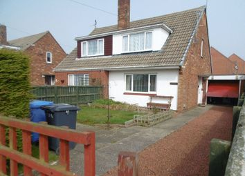 Thumbnail 3 bed semi-detached house for sale in Woodside Crescent, Hadston, Morpeth