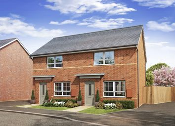 "Thumbnail 2 bed semi-detached house for sale in ""Roseberry"" at Lowfield Road, Anlaby, Hull"