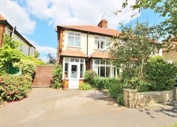 Thumbnail 3 bed semi-detached house to rent in Leys Avenue, Cambridge
