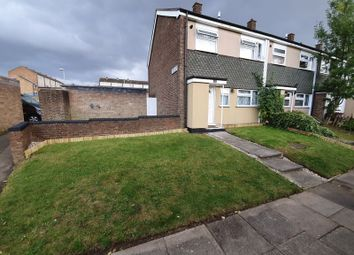 Thumbnail 3 bed end terrace house to rent in Arrow Close, Luton