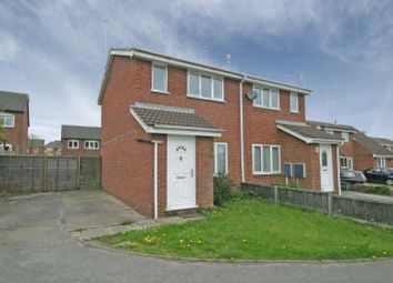 Thumbnail 2 bed semi-detached house to rent in Partridge Drive, Woodville, Swadlincote
