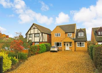Thumbnail 4 bed detached house for sale in Ugg Mere Court Road, Ramsey Heights, Ramsey, Huntingdon