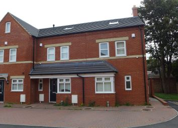 Thumbnail 4 bed end terrace house to rent in Chequers Lane, Wellingborough