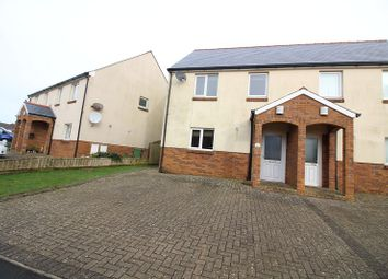 Thumbnail 3 bedroom semi-detached house for sale in Conway Drive, Steynton, Milford Haven, Pembrokeshire.