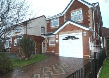Thumbnail 3 bed detached house to rent in Newark Close, Huyton, Liverpool