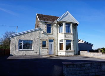 Thumbnail 5 bed detached house for sale in Swansea Road, Penllergaer