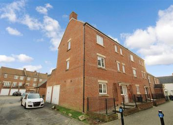 Thumbnail 5 bedroom town house for sale in Delft Crescent, Redhouse, Swindon