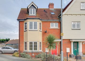 Thumbnail 4 bed end terrace house for sale in Woden Avenue, Stanway, Colchester