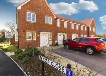 Thumbnail 3 bed end terrace house for sale in Blazer Close, Broadstairs