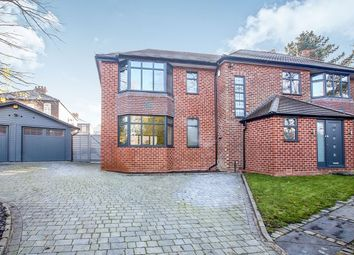 Thumbnail 4 bed detached house for sale in Old Hall Road, Gatley, Cheadle