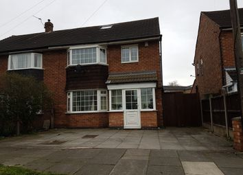 Thumbnail 3 bedroom semi-detached house for sale in Saltcoates Avenue, Rushey Mead, Leicester