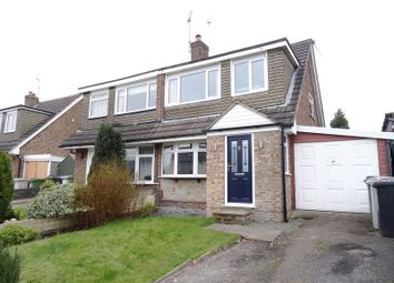 Thumbnail 3 bed semi-detached house for sale in Hardwick Drive, Macclesfield