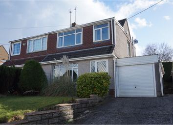 Thumbnail 3 bed semi-detached house to rent in Pengors Road, Llangyfelach